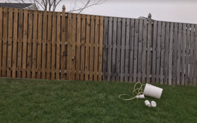 The Safest Way To Clean A Wood Fence