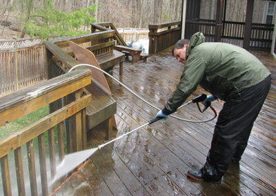 deck cleaning frederick md