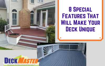 8 Special Features That Will Make Your Deck Unique
