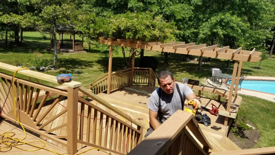 why not diy deck building
