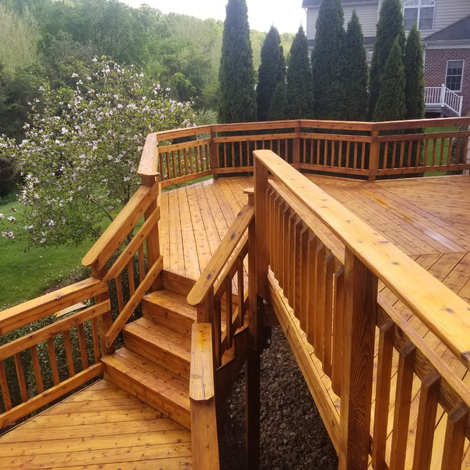 maryland deck power washer