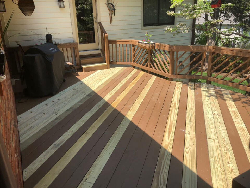 deck being repaired in maryland