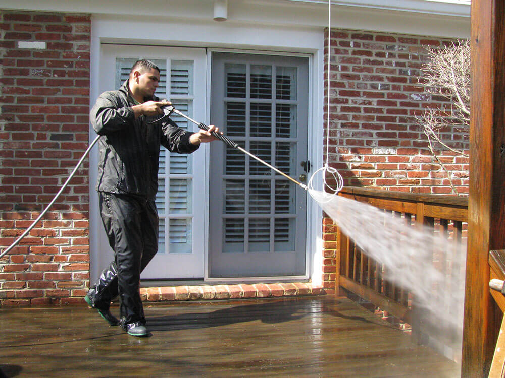 pressure washing reston va