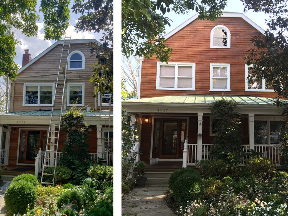 pressure washing painting house gaithersburg md